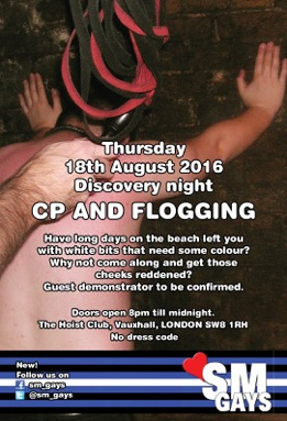 August CP and Flogging
